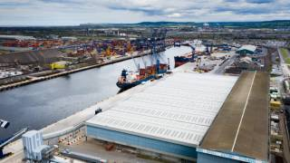 PD Ports celebrates the official opening of a multi-million pound bulks handling facility at Teesport