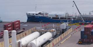 Swedish Flagged Tanker FURE VEN Becomes the First Foreign Flagged Vessel to Bunker LNG at a United States Port With Eagle LNG