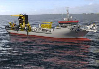 Keppel delivers fourth dredger to Jan De Nul