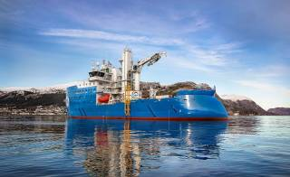 Ulstein Verft Delivered Bernhard Schulte'S Next-Generation Hybrid Offshore Wind Vessel