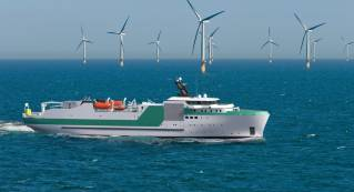 Piriou unveils new cable laying vessel