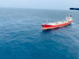 ONGC, Coast Guard Prevent Disaster as LPG Tanker Goes Adrift Near Offshore Installations