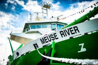 DEME holds virtual naming ceremony for next-generation trailing suction hopper dredgers Bonny River and Meuse River