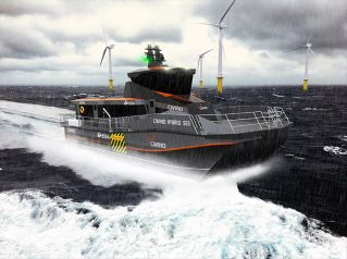 Wight Shipyard Co to build Revolutionary new hybrid crew transfer vessel