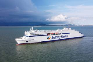 Portsmouth welcomes Galicia – Brittany Ferries brand new ship for Spain