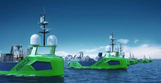 Volvo Penta helps power the world's first fleet of commercial autonomous exploration vessels