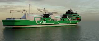 KNUD E. HANSEN X-Gas Project Leads the Charge in Next Generation sustainable fuel Transport & Bunkering