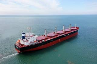 Kawasaki Heavy Industries Delivers Bulk Carrier HSL MEXICO To Stiringaster Line
