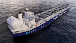 Newport's LNG system gains class approval for green future