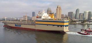 Matson Takes Delivery Of First Kanaloa Class Vessel 'Lurline'