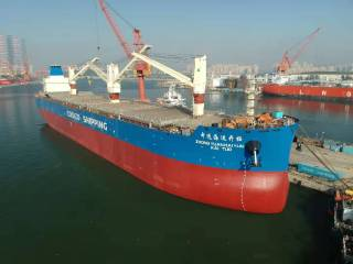 COSCO Confirms Thordon Seawater Lubrication for Eight Newbuild General Cargo Ships