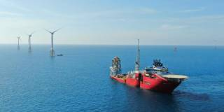Jan De Nul completes installation of all wind turbines at TPC Offshore Wind Farm