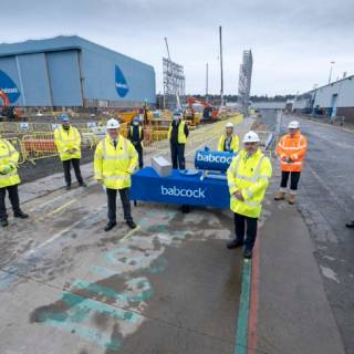 Babcock invests in technically advanced shipbuilding facility