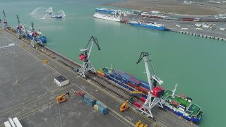 Port of Baku becomes first Green Port in the Caspian region