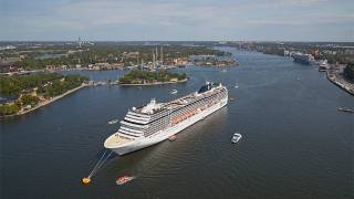 Almost 290 cruise liners will call at Ports of Stockholm in 2020