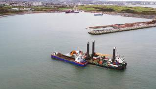 Van Oord wins another contract for Aberdeen Harbour Expansion Project