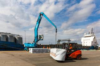 The Port of King's Lynn sees timber volumes double in volume