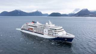 HANSEATIC spirit delivered from VARD to Hapag-Lloyd Cruises in Germany