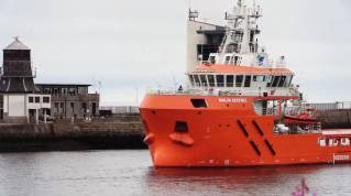 Malin Sentinel Arrives In Aberdeen Harbour From China After 11,500 Mile Maiden Journey (Video)