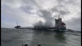 RLNI: Three Irish lifeboats called out to assist 4,000 tonne cargo vessel in danger (VIDEO)