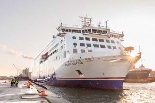 New Stena Line ferry completes maiden voyage on Irish Sea