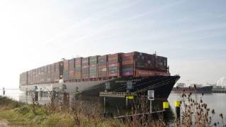 Port of Rotterdam: Odd one out in Calandkanaal
