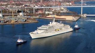 WATCH: Crystal Endeavor Undergoes Sea Trials