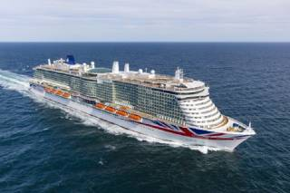 MEYER WERFT hands over Iona to P&O Cruises