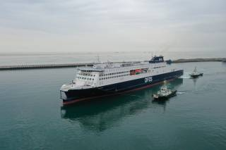 Côte d'Opale delivered to DFDS (Video)