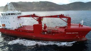 First reefer vessel designed by Havyard Design & Solutions AS delivered to Royal Arctic Line