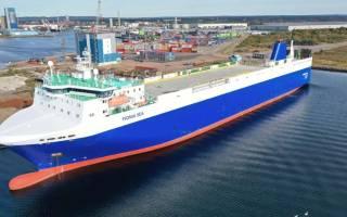 New Wallenius Sol service delivers 200,000 extra tonnes of paper reels to PSA Zeebrugge Terminal