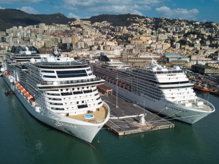 MSC Grandiosa resumed service as planned departing from Genoa for 7-night itineraries in the Western Mediterranean