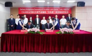 Hudong delivers third Yamal LNG tanker for Cosco-MOL JV