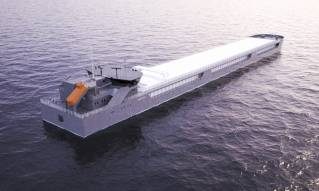 United Shipbuilding Corporation developed its own cargo ship design