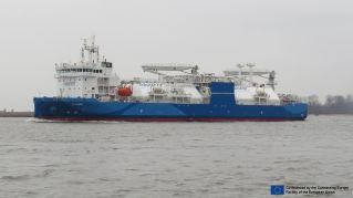 Nauticor's Kairos received the first LNG bunker license in the Port of Rostock