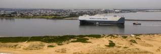 Höegh Tracer calls Port of Newcastle, Australia