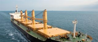 Eagle Bulk Shipping Inc. Takes Delivery of MV Shanghai Eagle