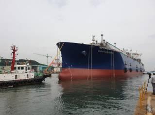 Samsung Heavy launches GasLog LNG newbuild