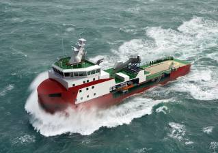 Royal Niestern Sander orders SCHOTTEL thrusters for world's first shallow-draught ice-breaking walk-to-work vessel