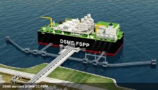DSME Receives ABS AiP for Floating Storage Power Plant Design