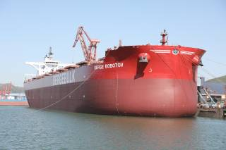 Berge Bulk welcomes the newest addition to its fleet: Berge Bobotov