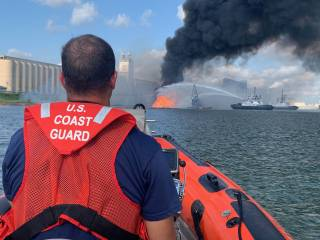 UPDATE: Coast Guard, salvage crews recover remaining dredging vessel crewmembers