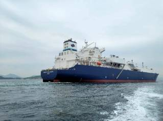 GasLog's LNG newbuild starts sea trials, delivery mid June