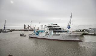 Damen Shiprepair & Conversion undertaking OceanXplorer Rebuild (Video)