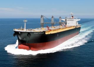 MES delivers 66,000 DWT type bulk carrier to Bronze Maritime