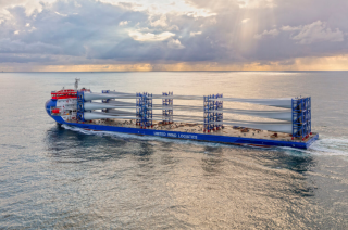 Second MHI Vestas deck carrier en route to Europe