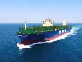 Daewoo Shipbuilding delivers largest container ship, solidifying its status as a leading smart ship builder