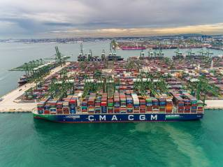 CMA CGM to Dedicate Six New LNG-Powered Vessels to Service U.S. Customers