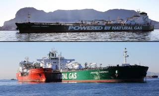 First LNG bunkering completed in Gibraltar by Shell