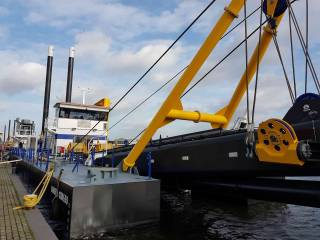 Damen Shipyards Group unveils the design of its first Electric Cutter Suction Dredger (ECSD) 650